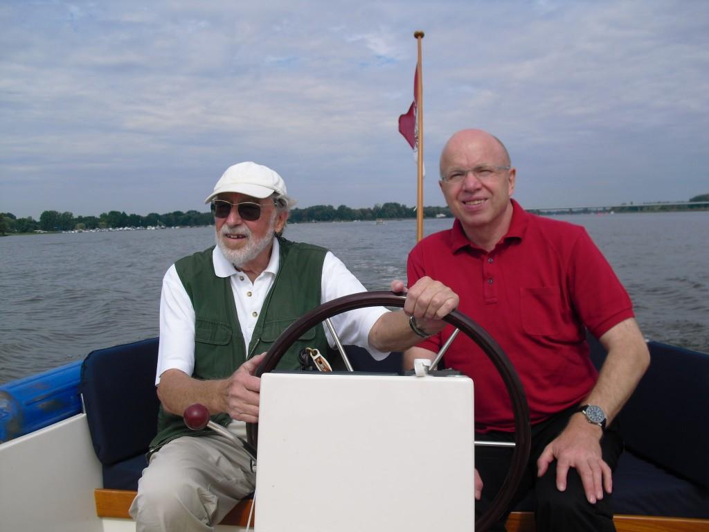 Mit Dr. Werner Schrank und seiner Schaluppe auf dem Großen Zernsee