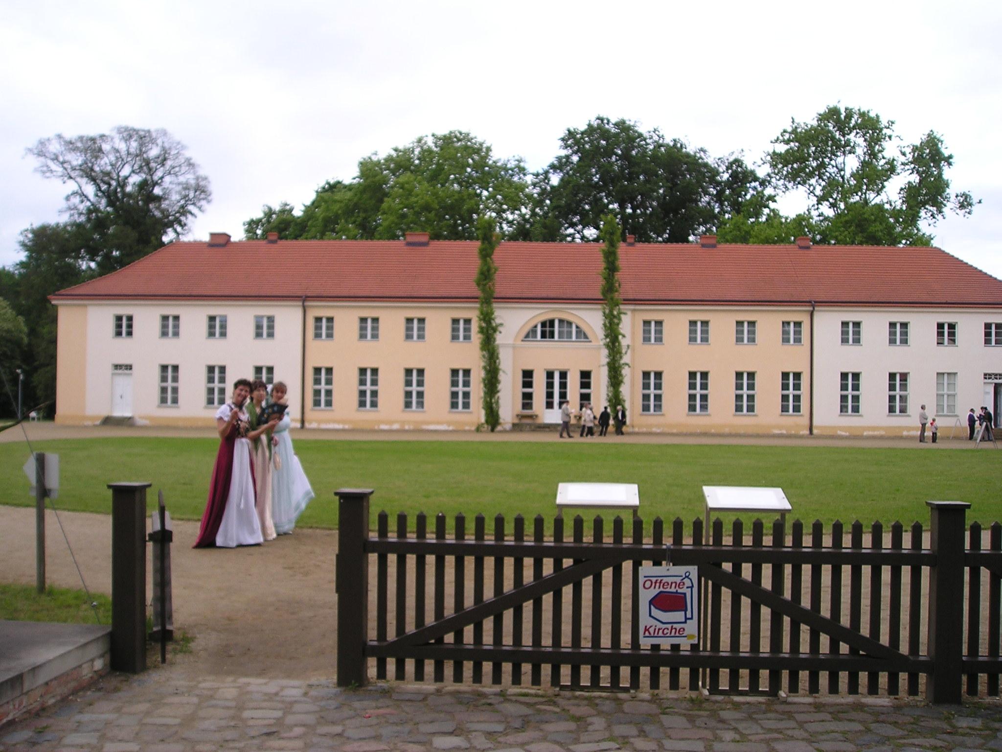 Schloss Paretz Foto: Weirauch