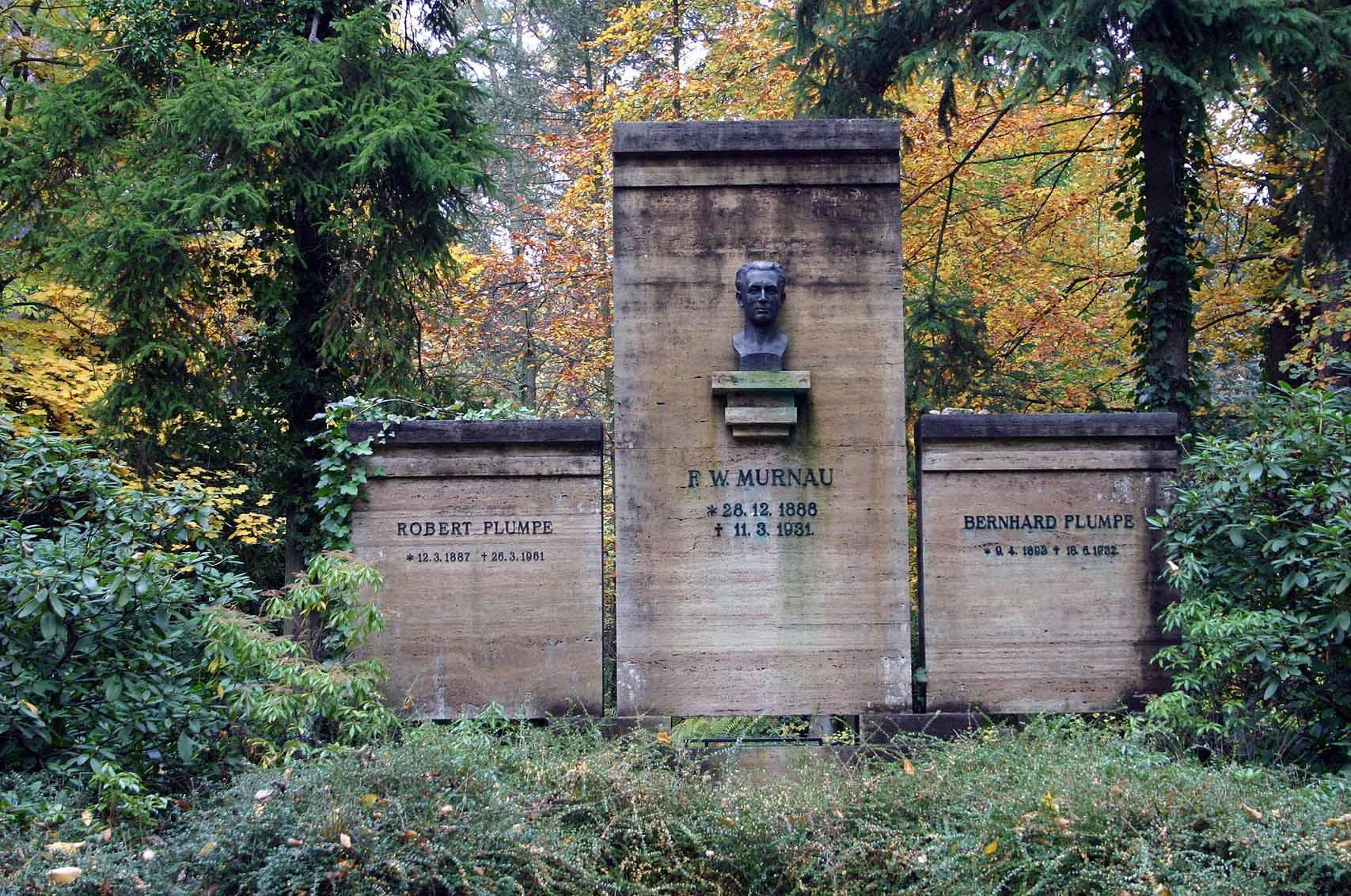 Grab von Friedrich Wilhelm Murnau, Foto: D. Weirauch