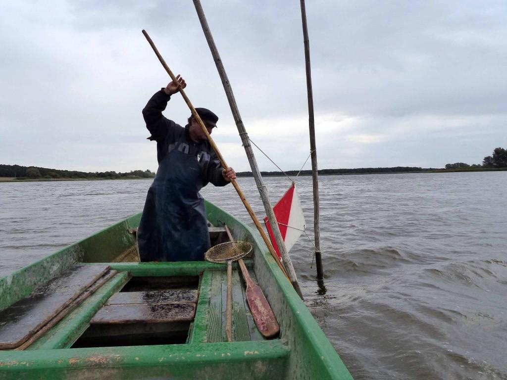 Mit dem Fischer auf dem Beetzsee