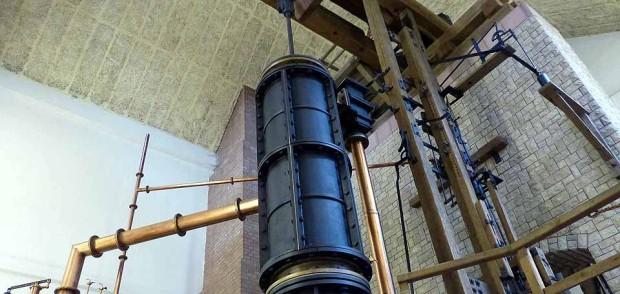 Nachbau der Hettstedter Dampfmaschine in Hettstedt- Burgörner