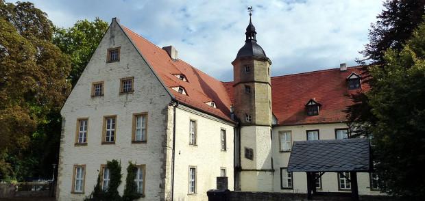 Novalis-Geburtshaus in Wiederstedt Foto: Weirauch