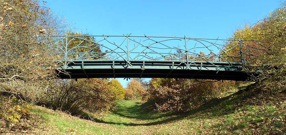 Bismarckp Bismarckbrücke Babelsberg Park Sanssouci