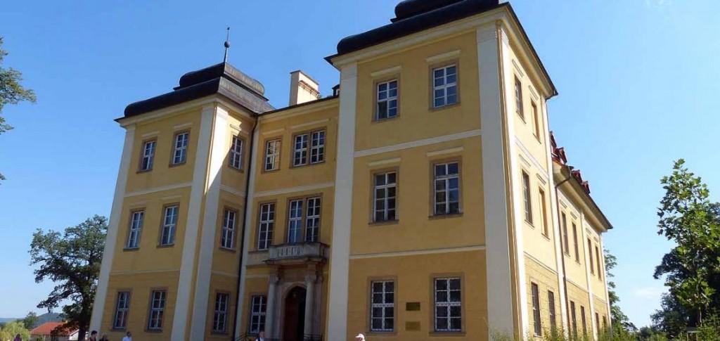 Schloss Lomnitz im Hirschberger Tal, Foto: D.Weirauch