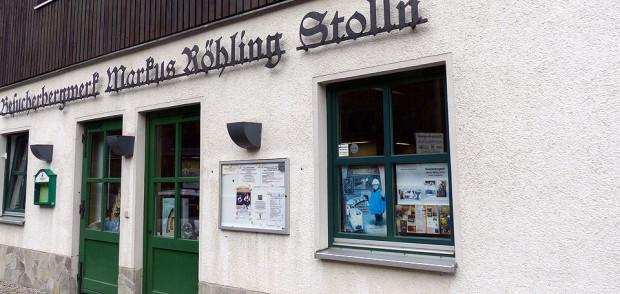Das Besucherbergwerk Markus Röhling Stolln in der Nähe von Annaberg - Buchholz. Foto: Weirauch