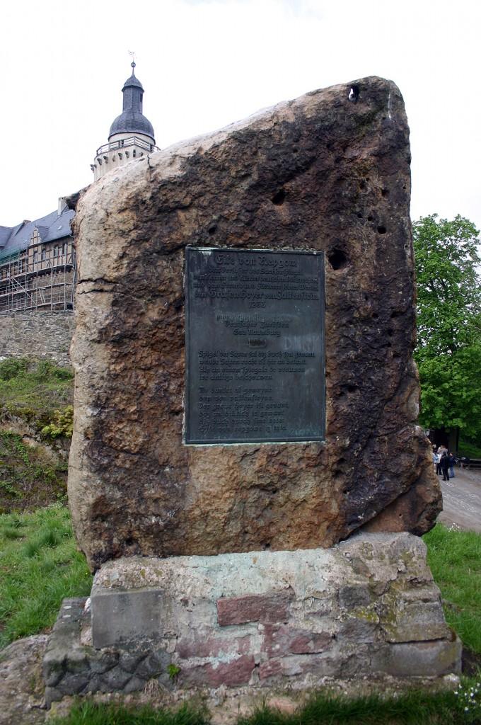 Gedenkstein für Eike von Repgow, Foto: Dieter Weirauch