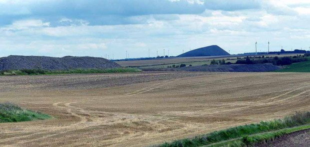 Haldenlandschaft bei Hettstedt