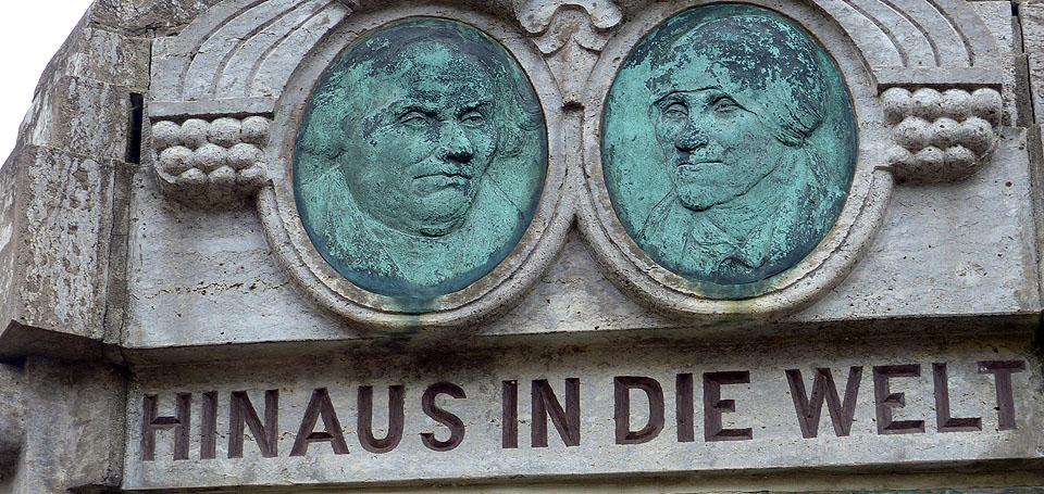 Lutherdenkmal in Mansfeld
