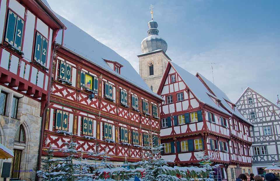Weihnachten in Rothenburg, Foto Burgenstrasse