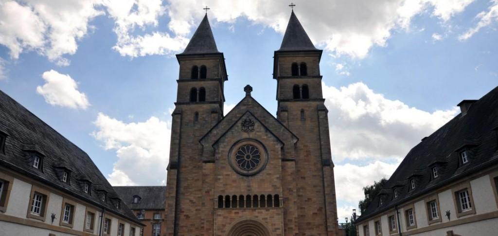 Die Abteikirche von Echternach, Foto: D.Weirauch