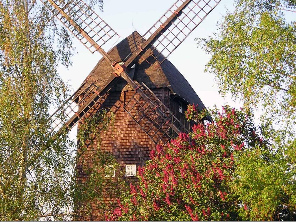 Mühle in Paretz am Ortsausgang