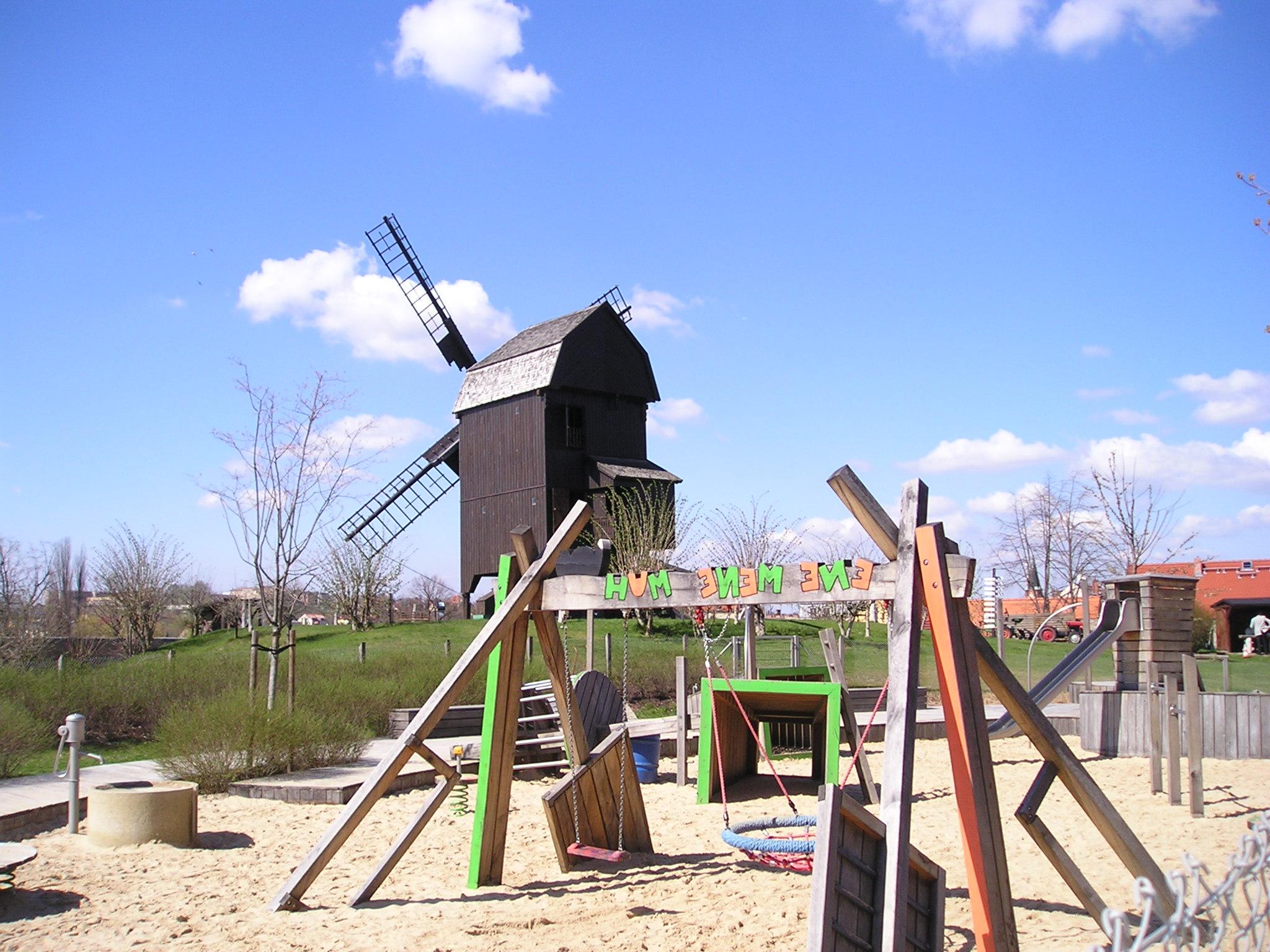 Mühle auf der Insel Werder
