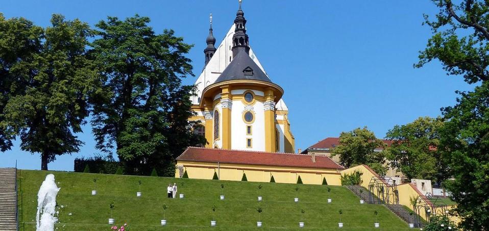 Ein Highlight am Oder-Neiße-Radweg ist das Kloster Neuzelle