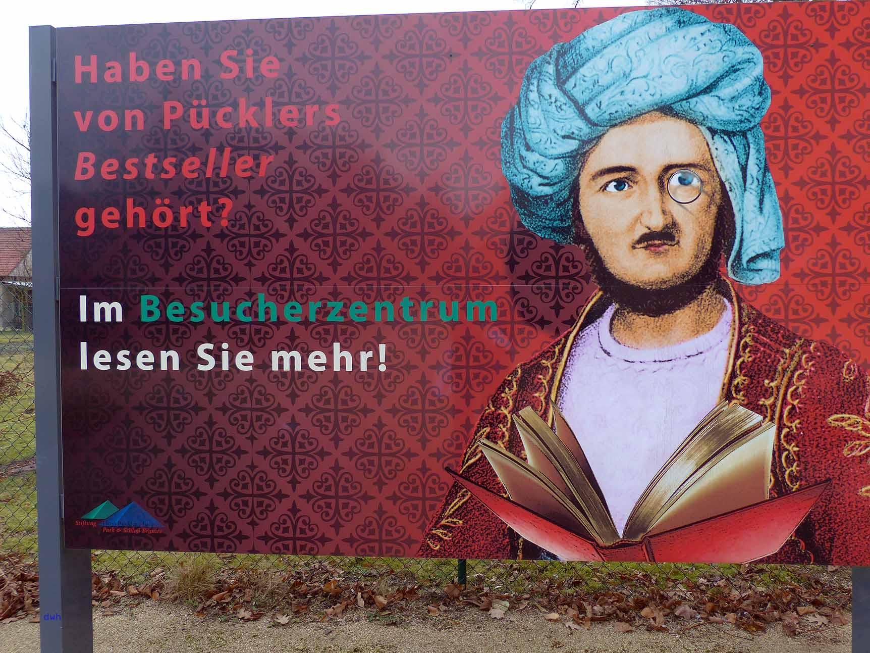 Alles über Fürst Pückler gibt es in Branitz zu hören und zu sehen