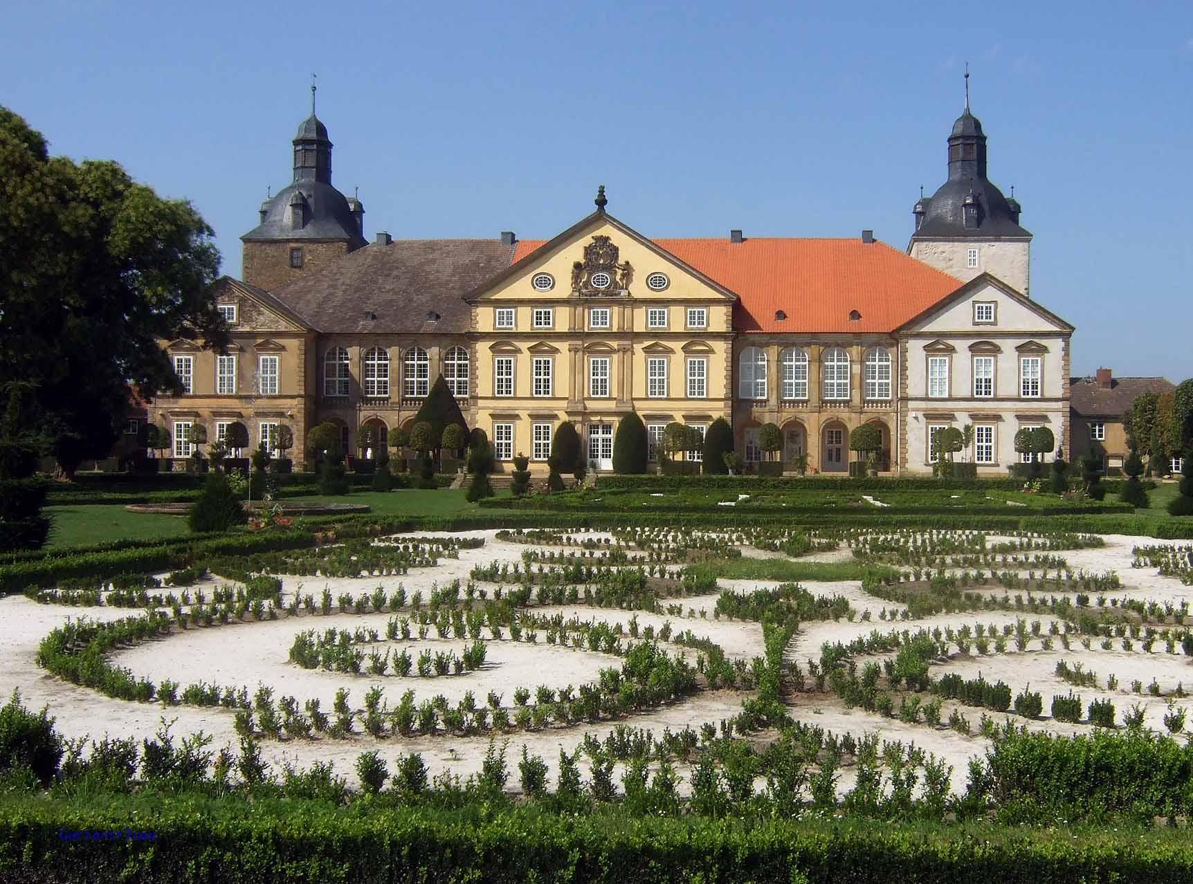 Gartenträumeschloss und Barockgarten Hundisburg, Foto: Gartenträume e.v.
