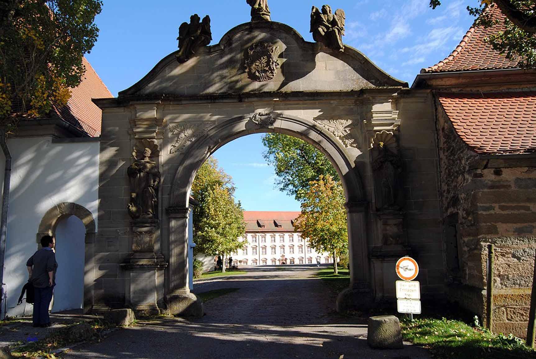 Blick vom Kloster Kirchberg, Foto Weirauch
