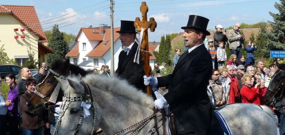 Osterreiter in der Lausitz