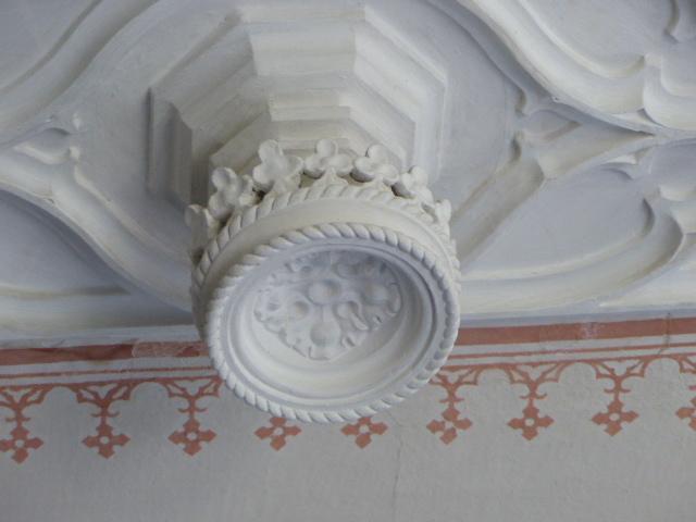 Deckendetail im Schloss Babelsberg