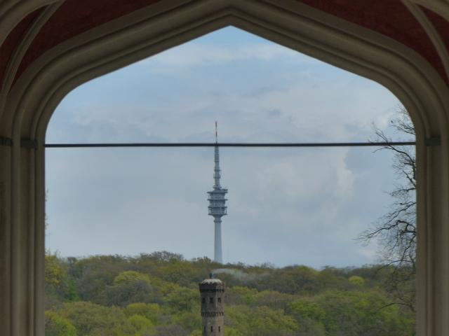 Blick aus dem Schloss Babelsberg