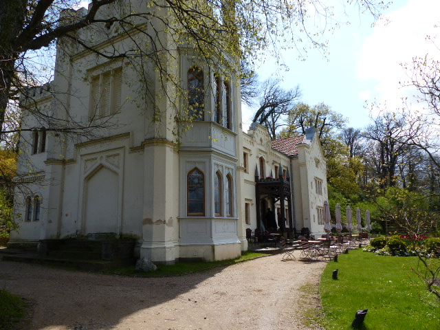 Kleines Schloss im Park Babelsberg, Foto: D.Weirauch