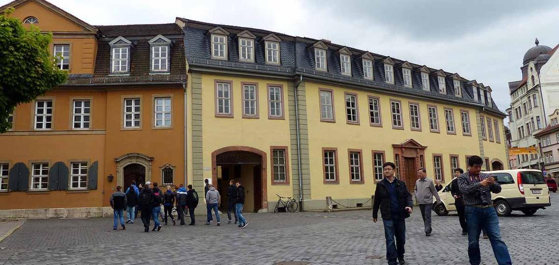 Goethehaus Weimar am Frauenplan, Foto: Weirauch