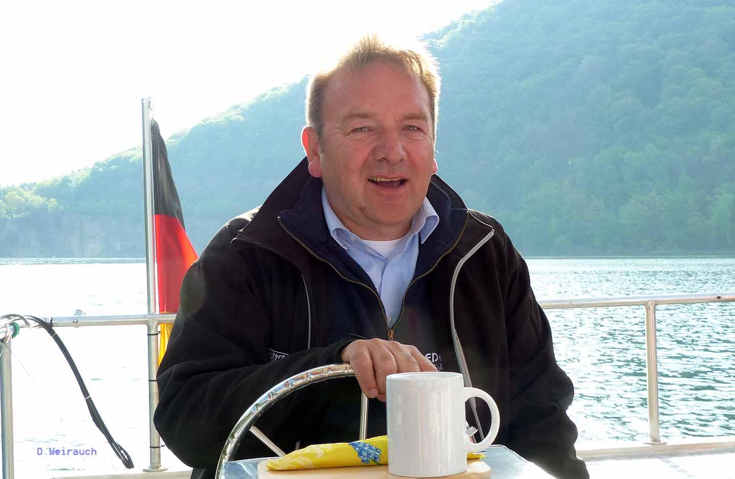 Karl Sucks initiierte die Fähre zwischen Rehbach und Scheid