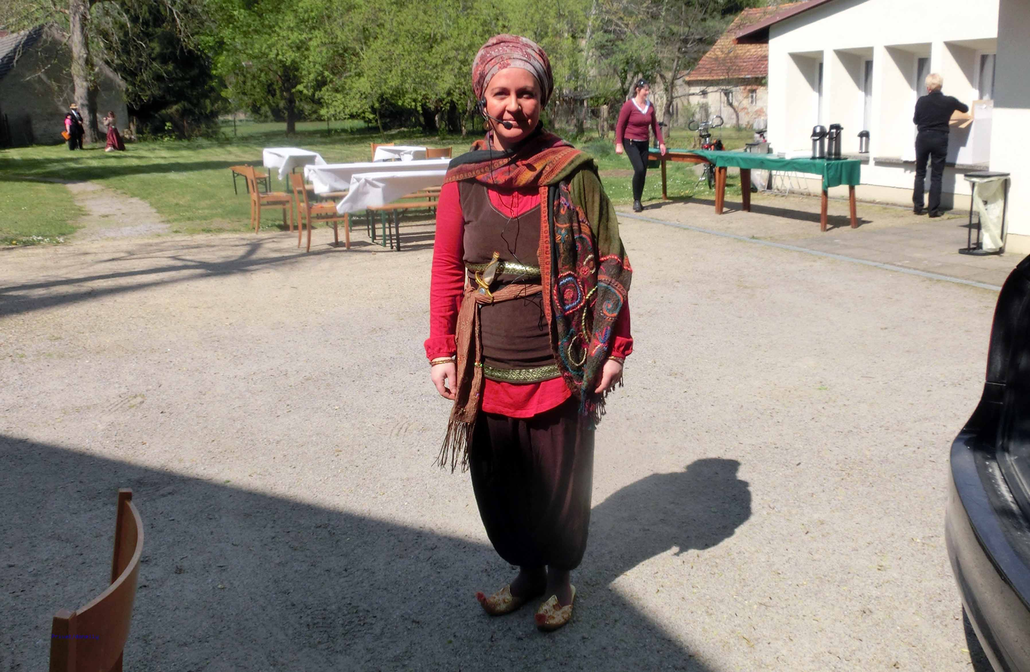 Machbuba-Darstellerin Babett Donnelly