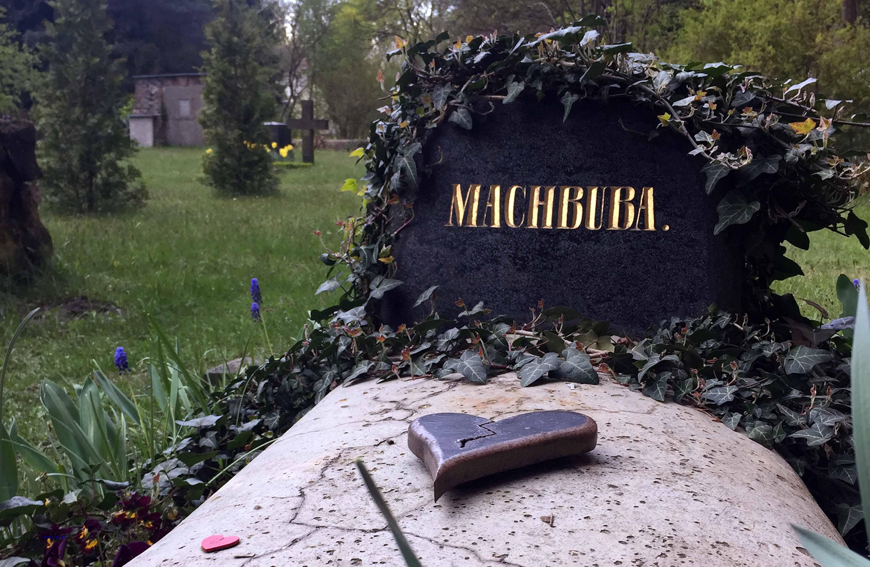 Grab von Machbuba in Bad Muskau