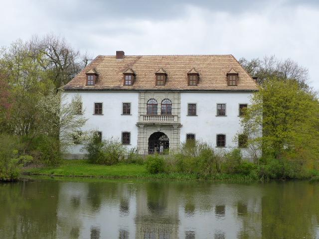 Das alte Schloss von Bad Muskau Bad Muskau Pückler Sachsen