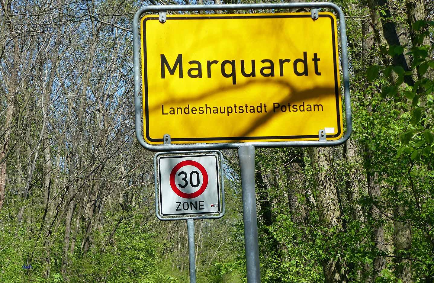 Marquardt, Ortsteil von Potsdam