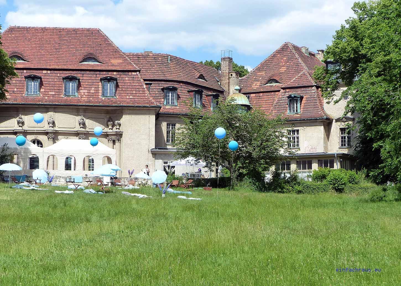 Schloss Marquardt im Sommer 2016