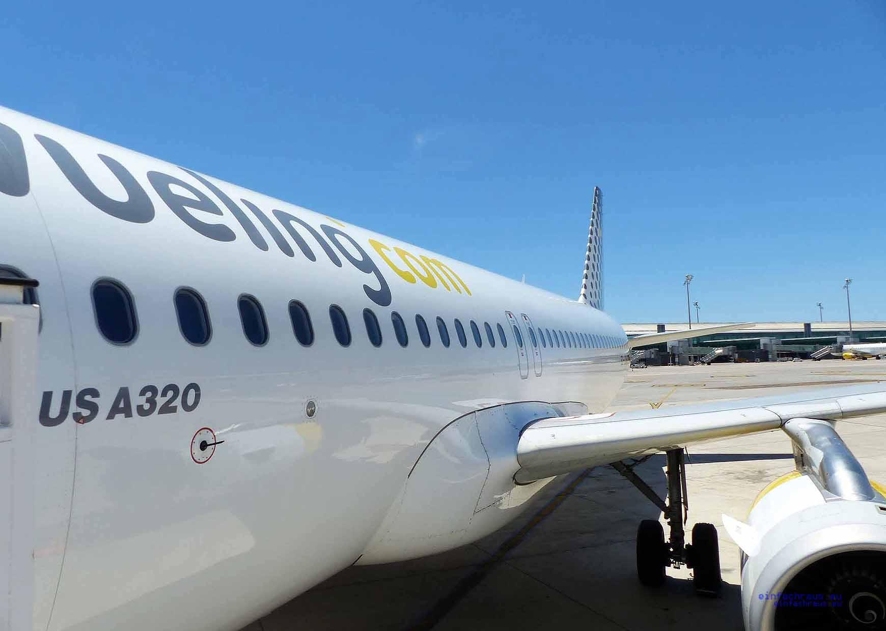 Vueling-Barcelonavueling Flugzeug