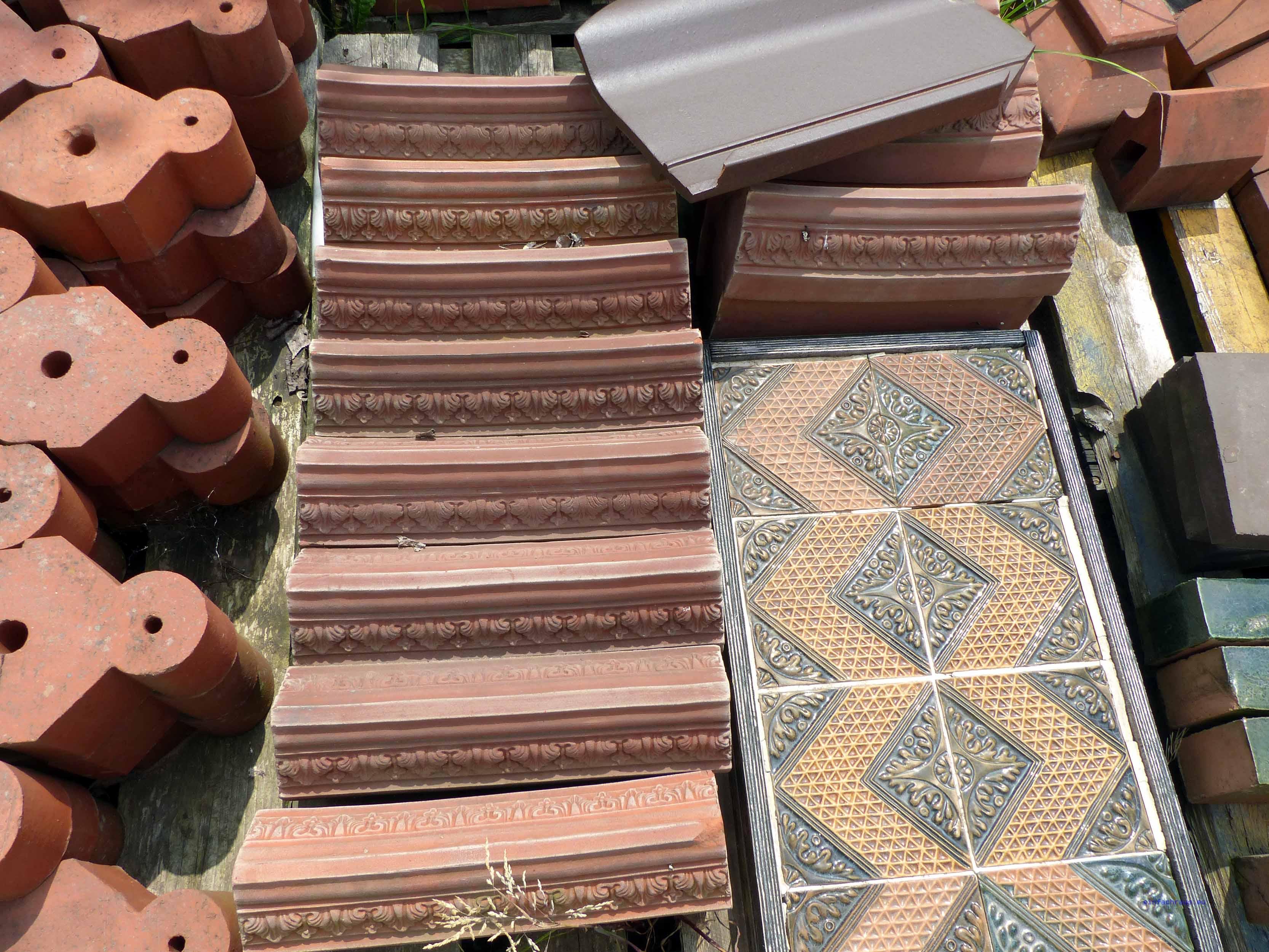 Terrakottaböden und Fliesen - Handarbeit aus Glindow