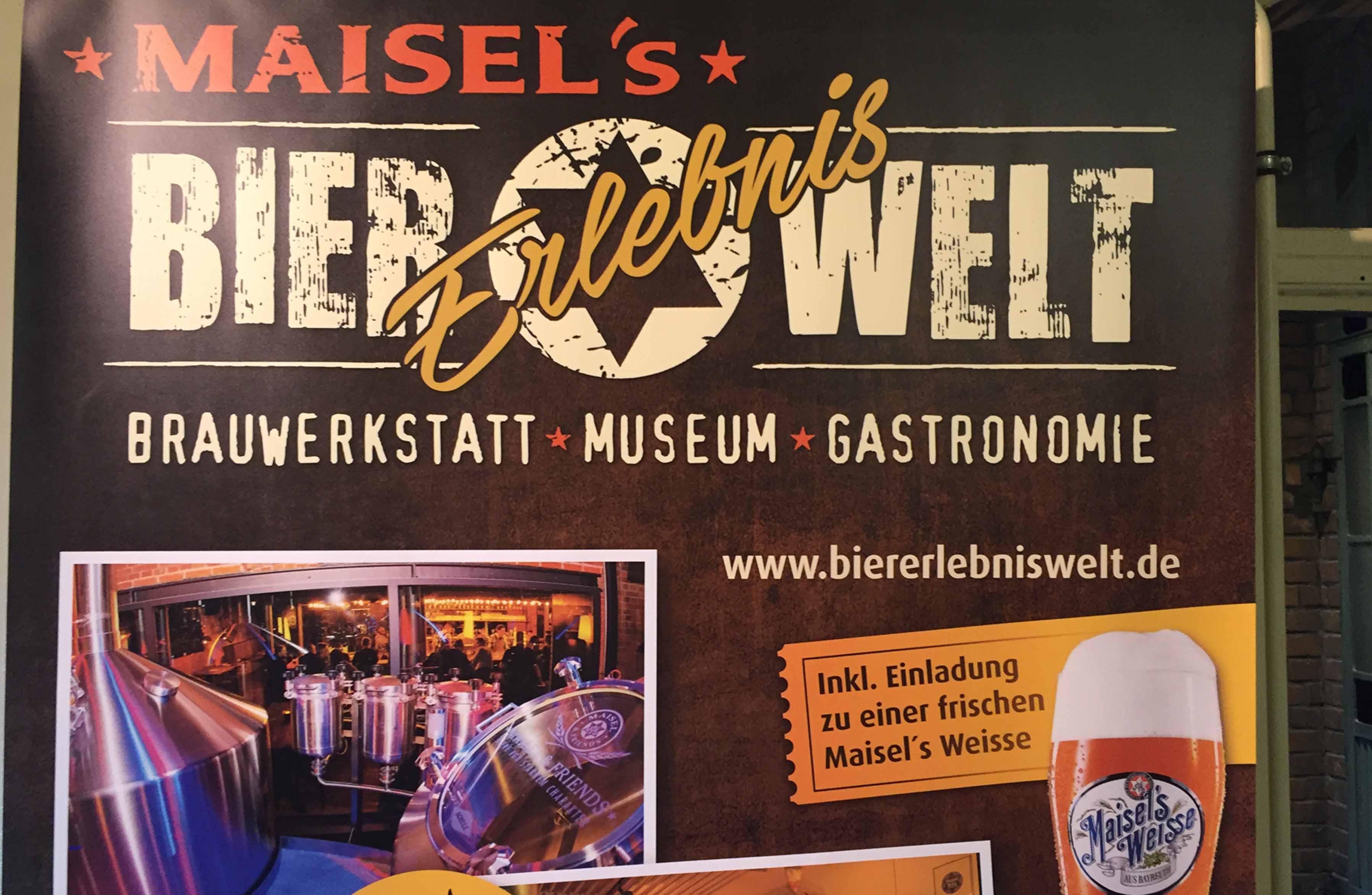 Maisels Bier Erlebniswelt in Bayreuth