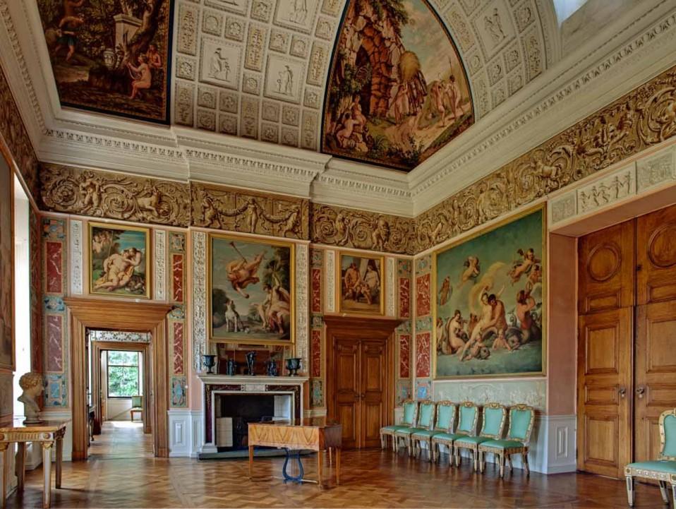 Festsaal im Schloss Wörlitz© Kulturstiftung DessauWörlitz, Foto: Heinz Fräßdorf,
