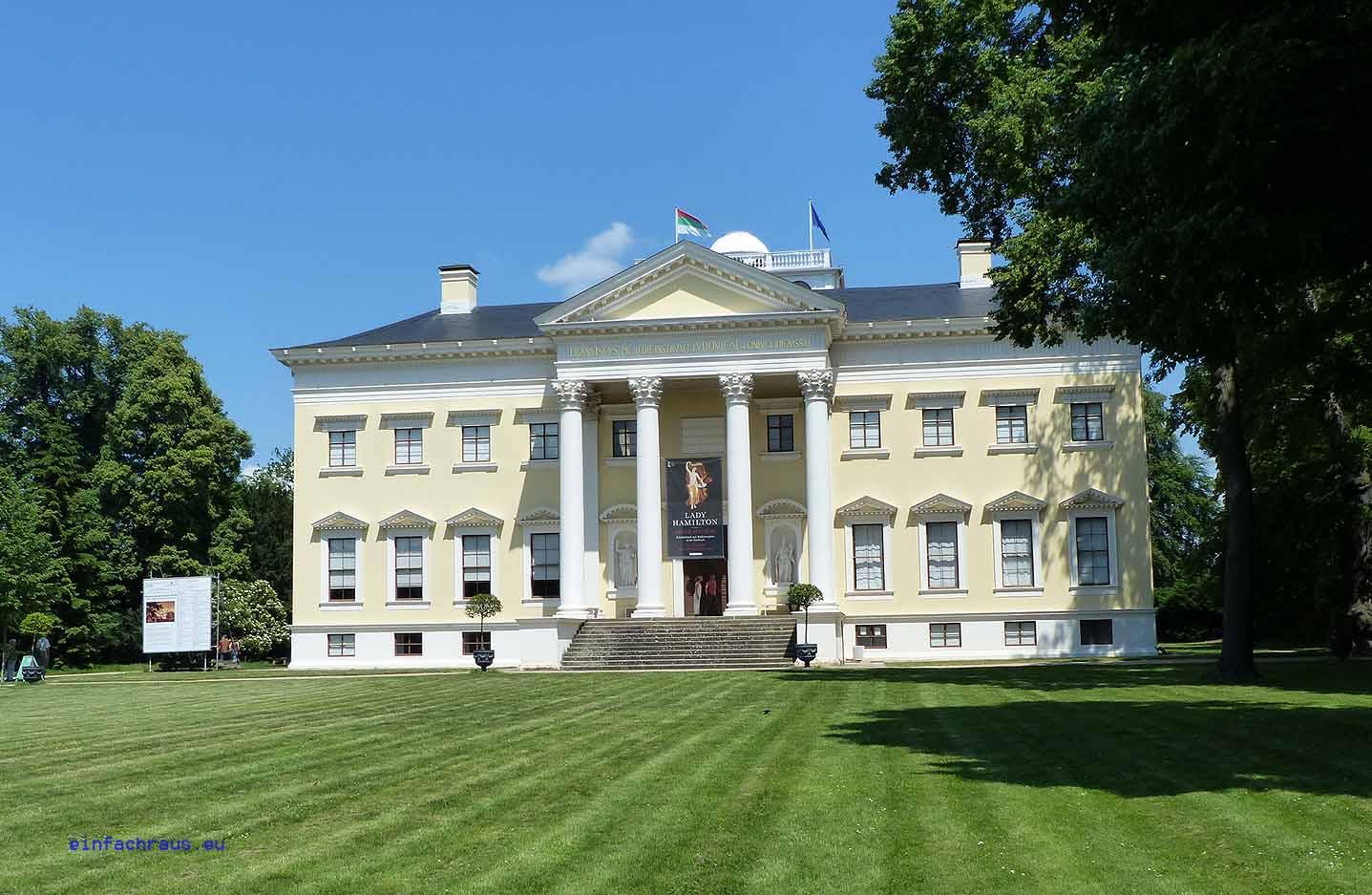 Schloss Wörlitz - der erste klassizistische Bau auf dem europäischen Kontinent