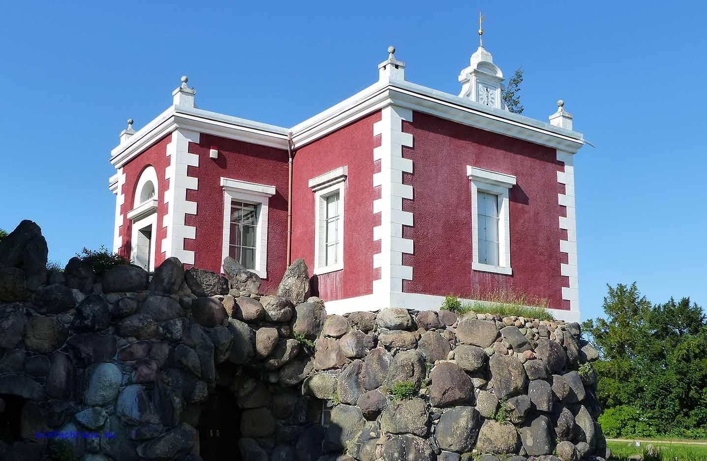Villa Hamilton - die nachgebaute Villa Emma