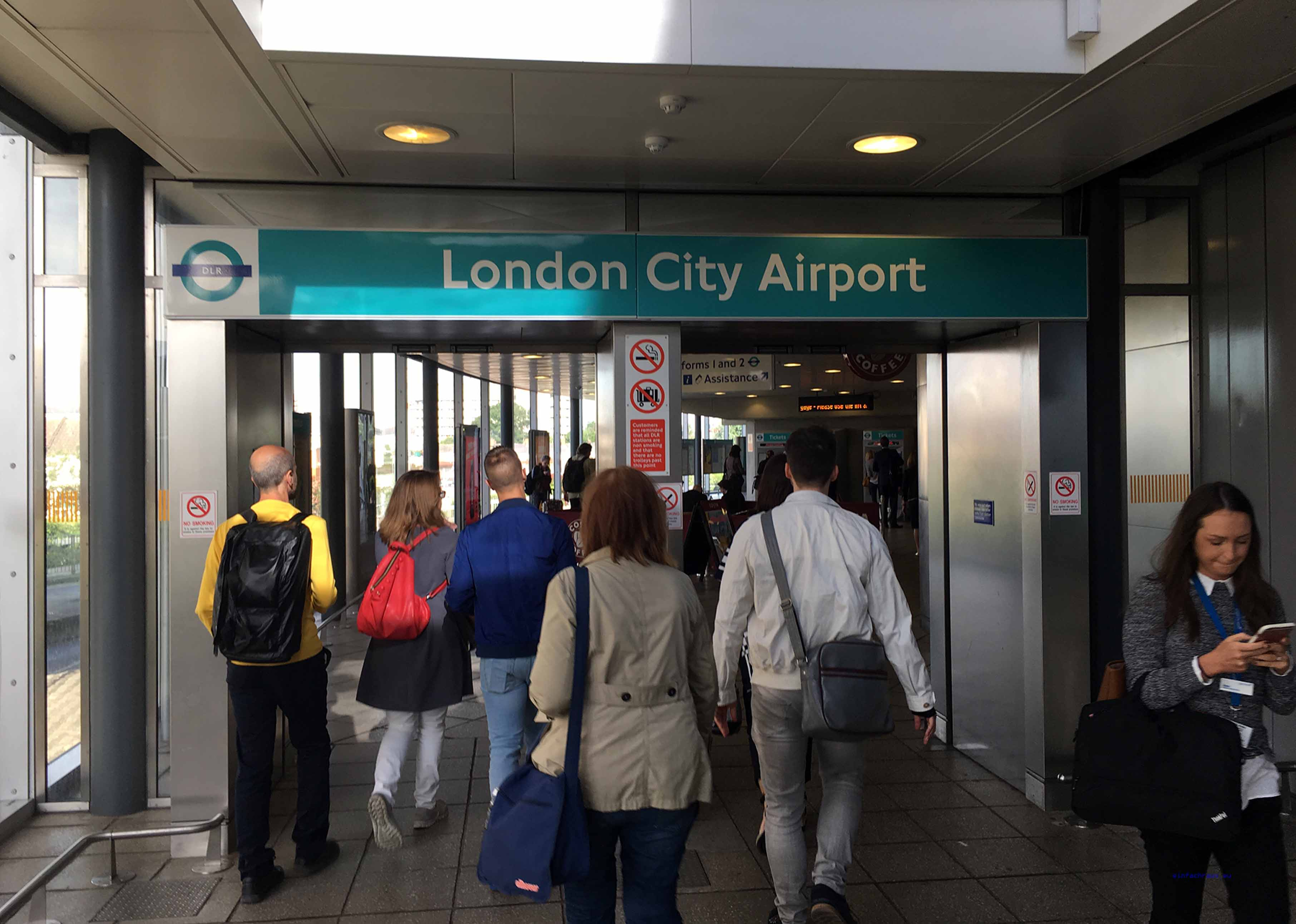 klein und fein: London City Airport