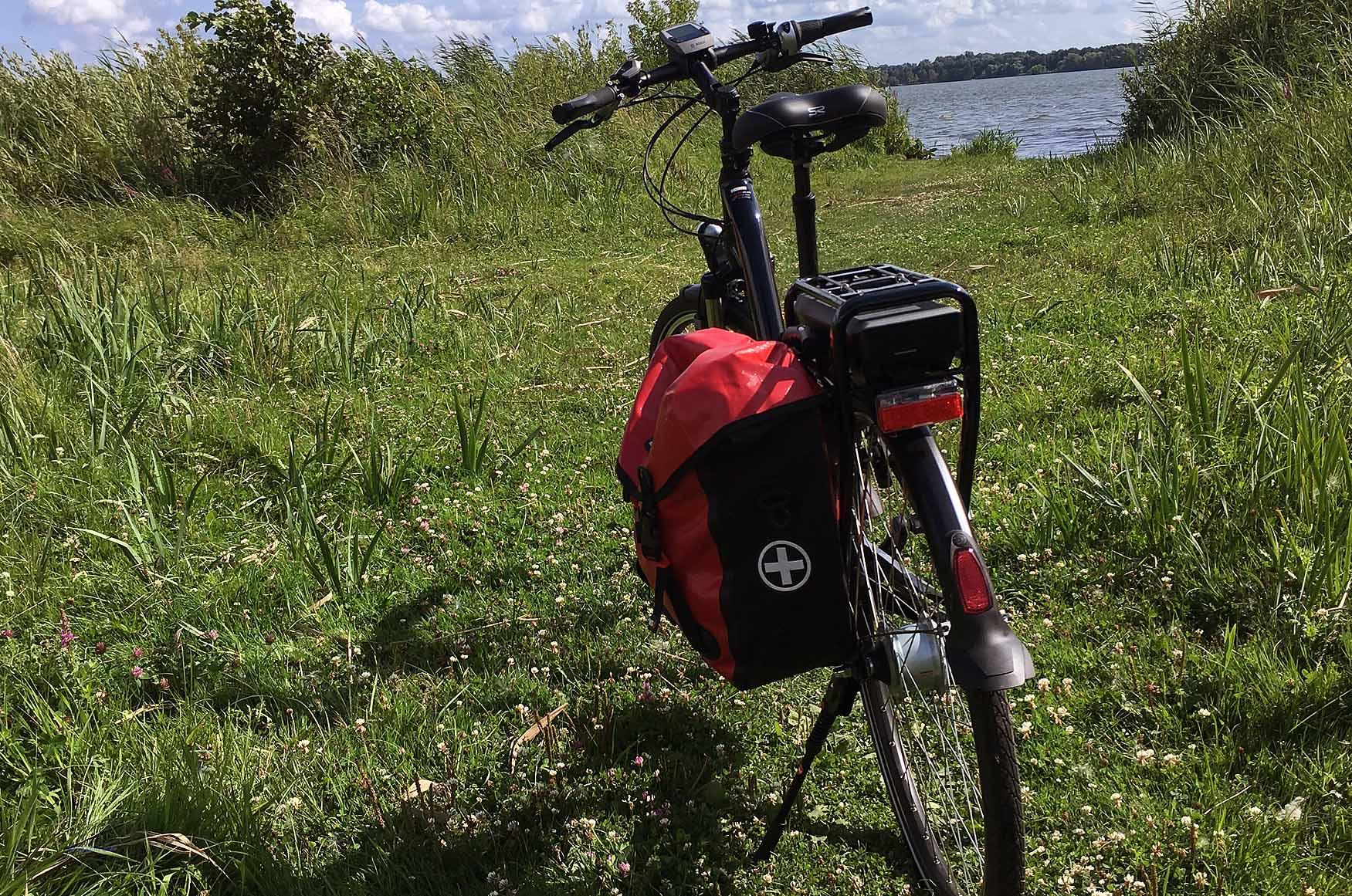 Auf Tour zu den Seen im Land Brandenburg