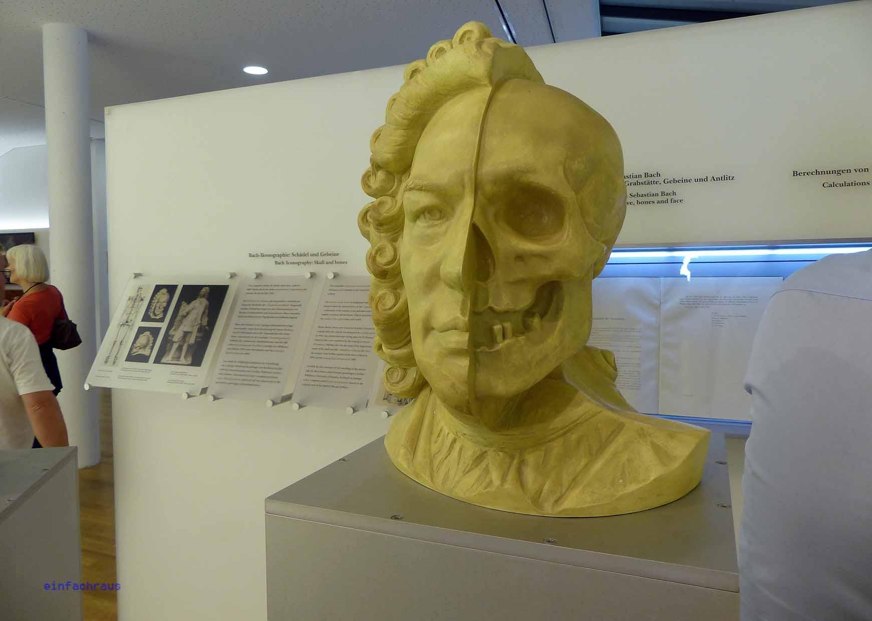 Blick in die Ausstellung im Bachhaus Eisenach