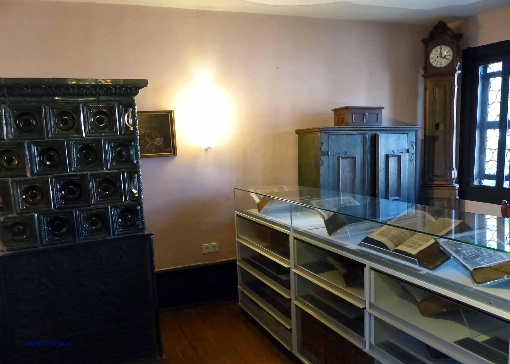 Dauerausstellung im Bachhaus Eisenach