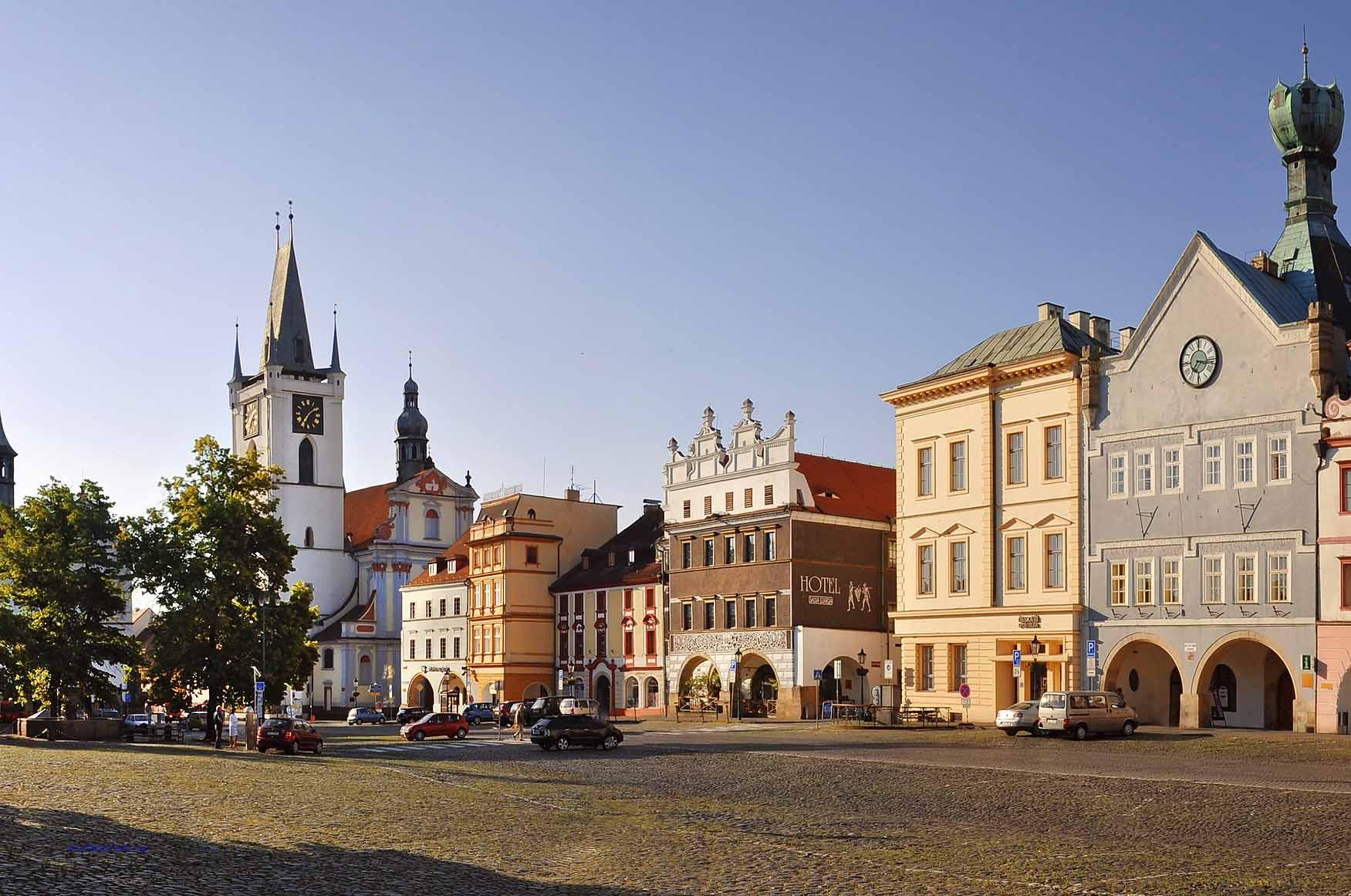 Marktplatz von Leitmeritz, Foto: l. Renner, Czech Tourism
