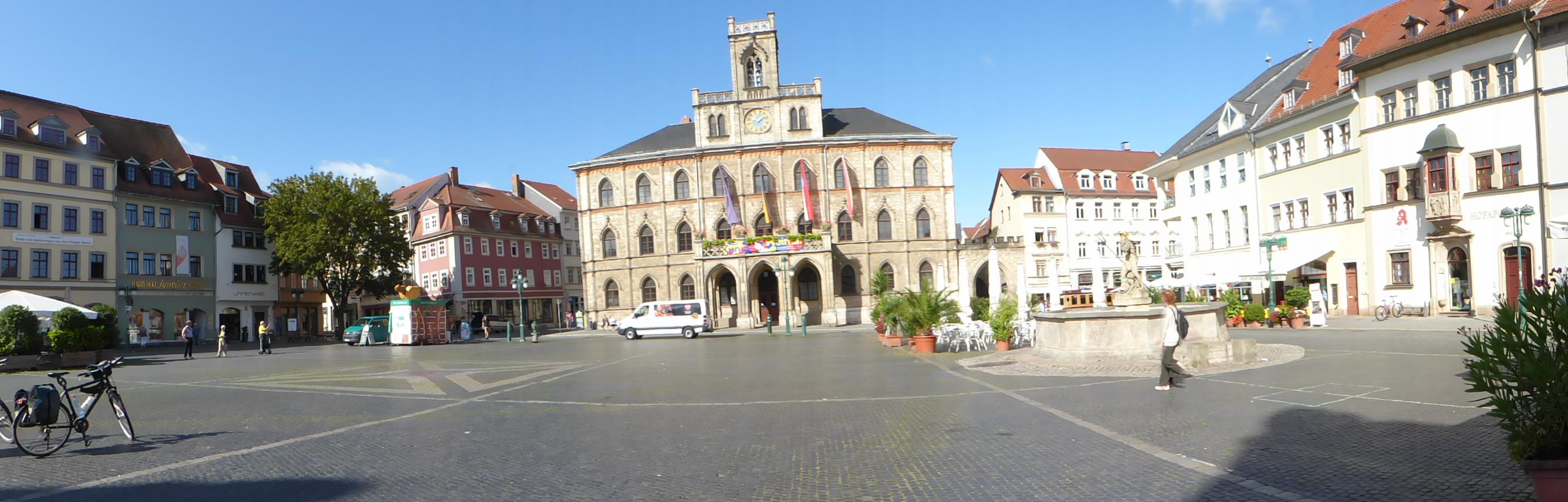 Rathaus von Weimar, Foto: D.Weirauch