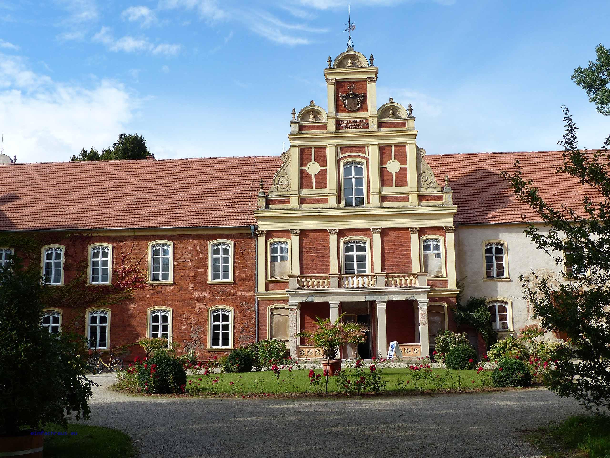 Das Meyenburger Schloss gehört heute zu den herausragenden profanen Baudenkmälern in der Prignitz.