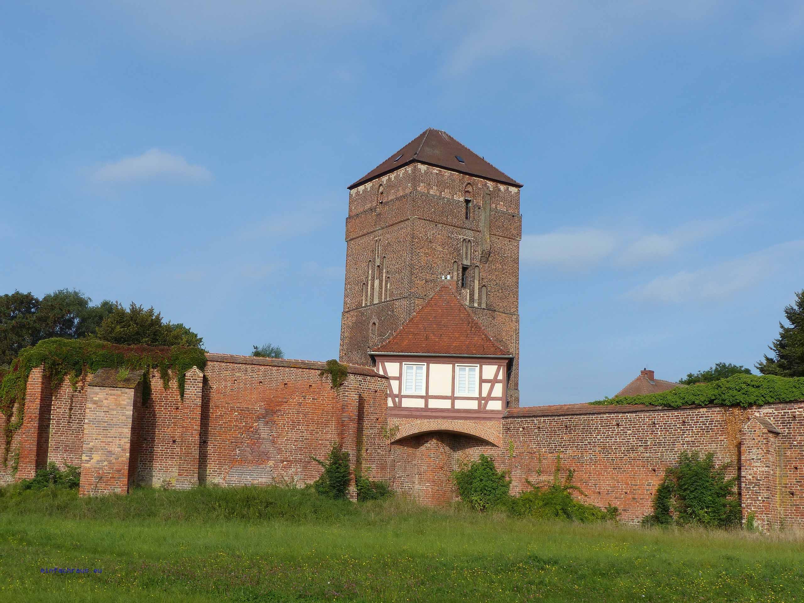 In der Bischofsburg von Wittstock befindet sich die einmalige Schau zum Dreißigjährigen Krieg.