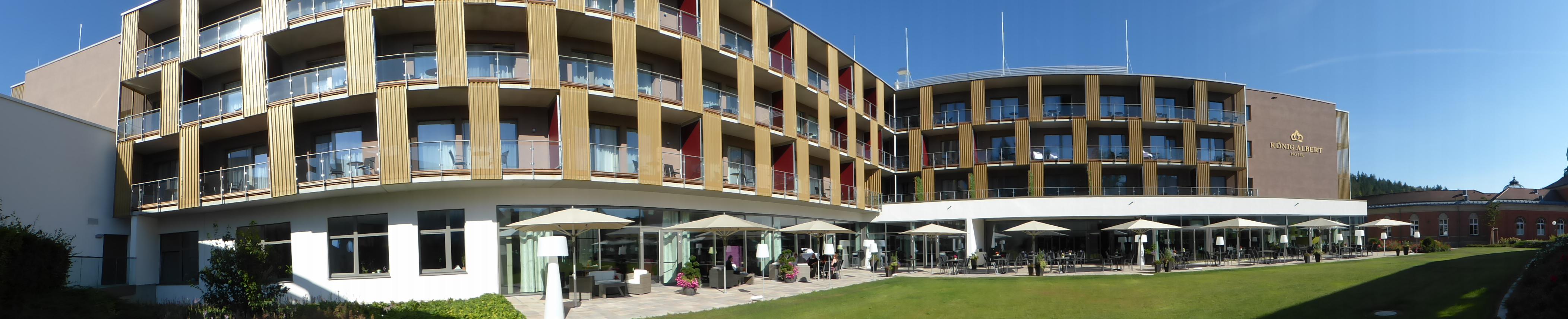 Das mondäne König Albert Hotel in Bad Elster/Vogtland, Foto: Weirauch