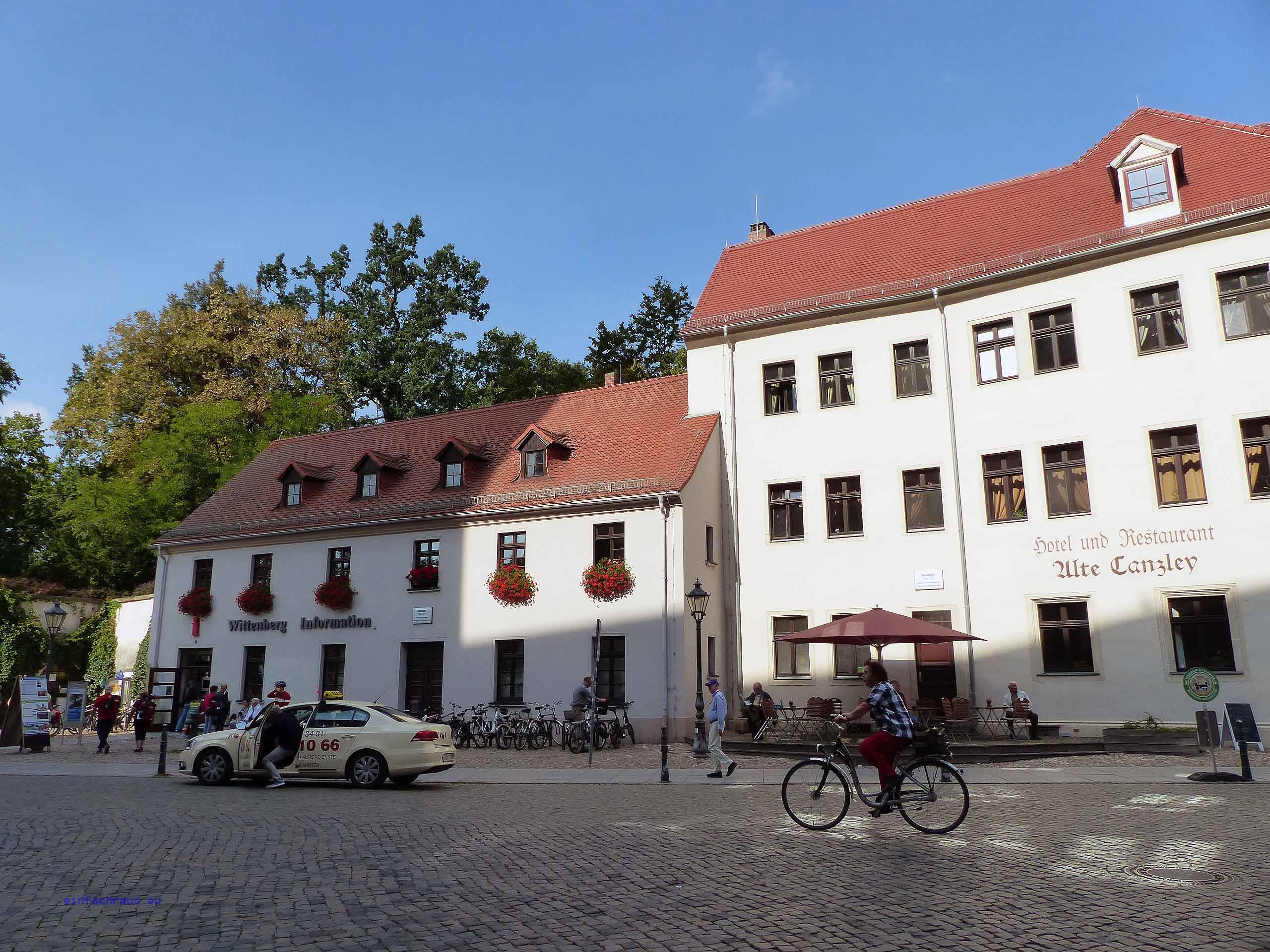 Wittenberg Information und Hotel Alte Canzley, Foto: Weirauch