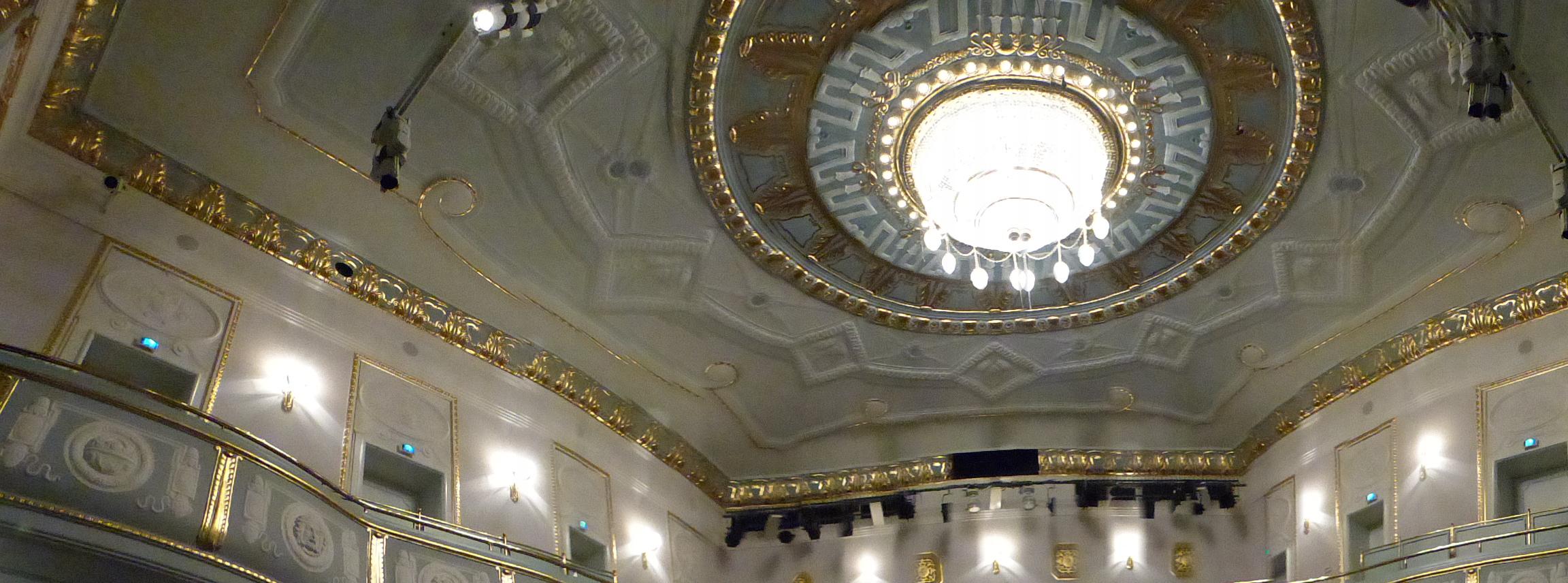 Blick in das König Albert Theater von Bad Elster, Foto: D.Weirauch