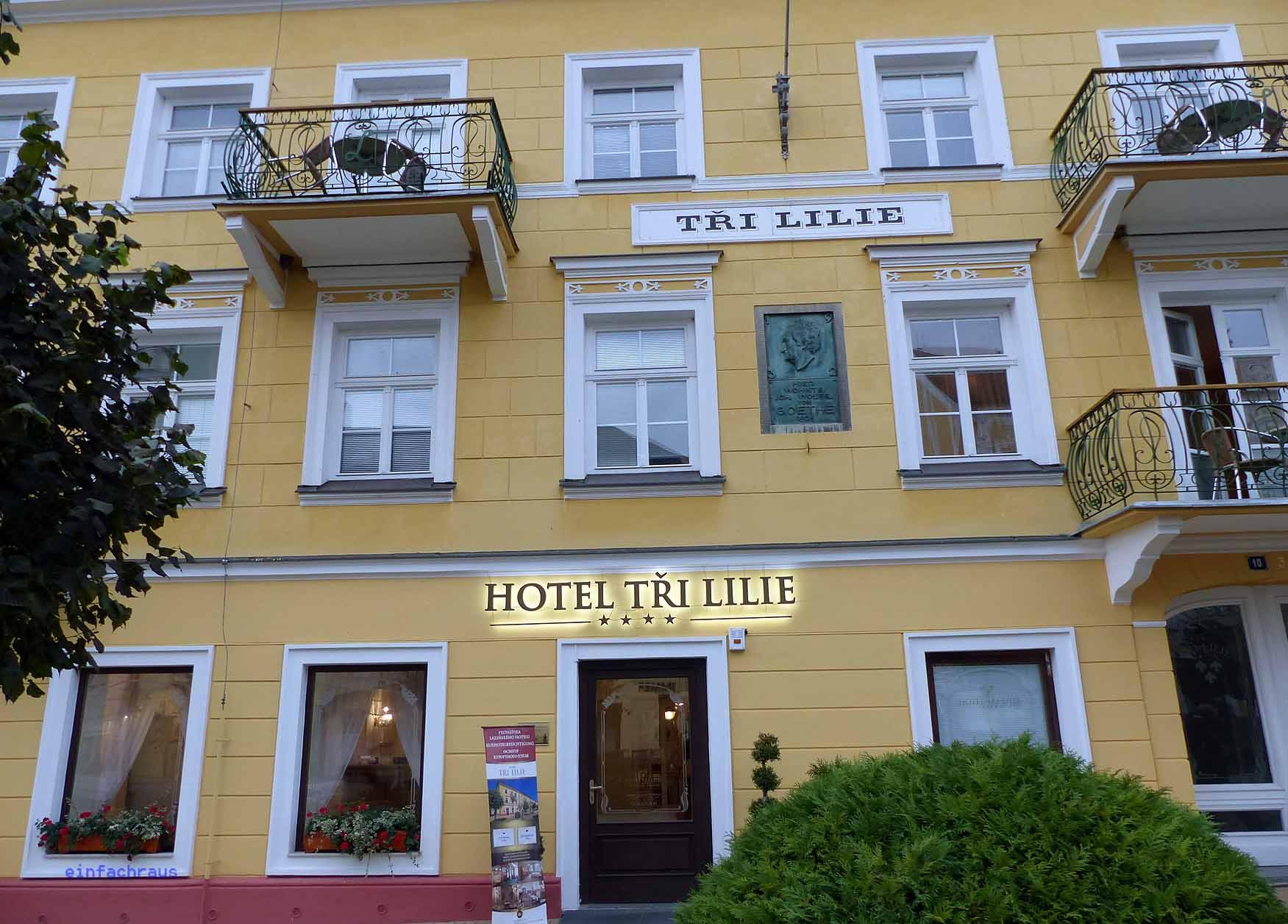 """Goethe wohnte im Hotel """"Drei Lilien"""", Foto: Weirauch"""