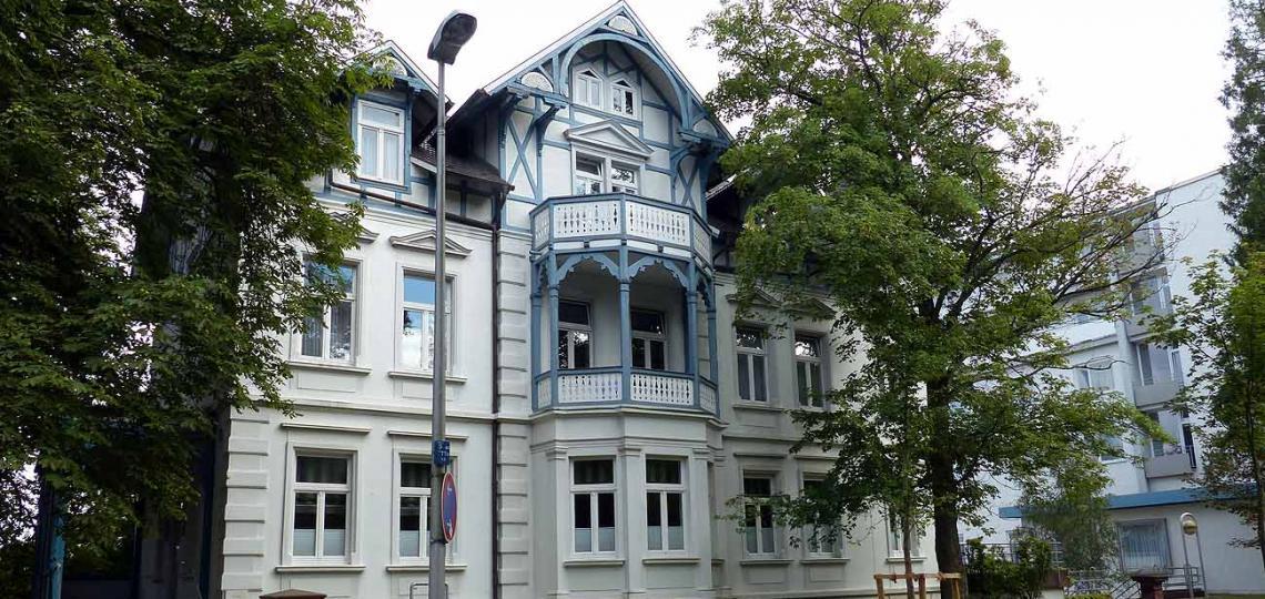 """In der schmucken Villa """"Concordia"""" an der Dr.Born-Straße ist das Juli-Institut für integrative Medizin beheimatet © - / D.Weirauch"""